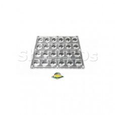 Блок линз 24BST-E (130x65°, 24x LED)