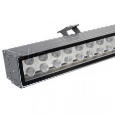Светодиодный прожектор AR-LINE-1000XL-54W-24V RGB (Grey, 30 deg, DMX512)