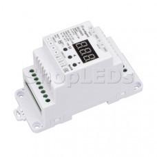 Декодер SMART-K23-DMX512-DIN (12-24V, 3x6A)
