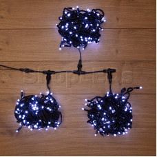 "Гирлянда ""LED ClipLight"" 24V, 3 нити по 10 метров, белый NEON-NIGHT"