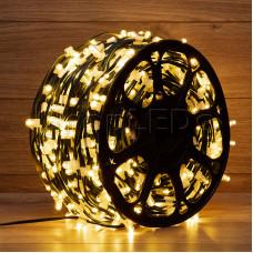 "Гирлянда ""LED ClipLight"" 12V 150 мм тепло-белый с трансформатором LED-LP-150-100M-12V-W NEON-NIGHT"