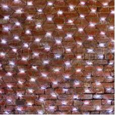 Гирлянда - сеть 2x3м, черный КАУЧУК, 432 LED Белые