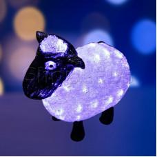 """Акриловая светодиодная фигура """"Овца"""" 30см, 56 светодиодов, IP65, 24В, NEON-NIGHT"""