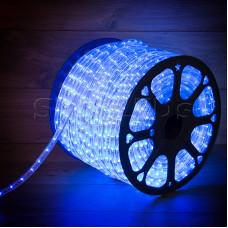 Дюралайт LED , постоянное свечение (2W) - синий, бухта 100м, Neon-Night