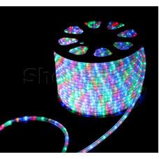 Дюралайт LED, свечение с динамикой (3W) - мульти, бухта 100м