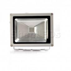 Светодиодный прожектор 20W, IP65, 220V, зеленый