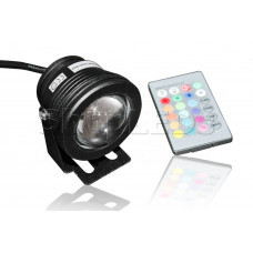 Точечный прожектор B-CD76P-RGB (AC85-265, 10W, RGB, черный корпус)