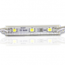Светодиодный модуль линейный 5050-3 (0,72W, 12V, White)